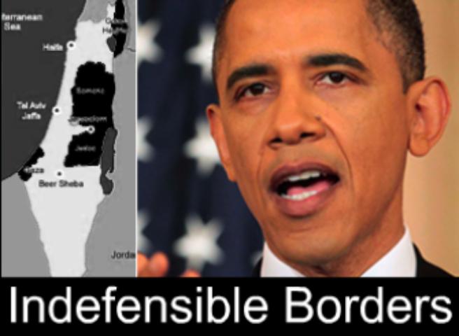Obama Deprecates Israel